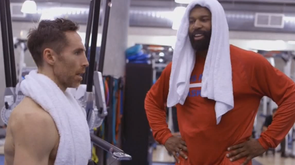 Baron Davis In 'The Comeback' Featuring Steve Nash