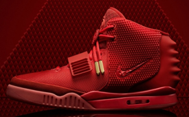 Nike Air Yeezy II 'Red October'