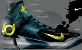 Kevin Durant 'Nike KD XII' Footwear Concept