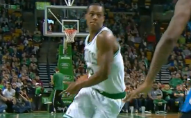 Rajon Rondo Up to His Old Tricks
