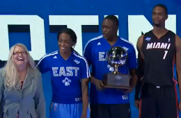 Team Bosh Wins the Shooting Stars Challenge