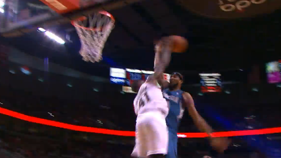 Thomas Robinson Has a Strong Lead on the Block of the Year Award