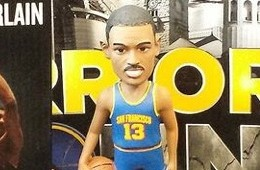 Warriors Host Wilt Chamberlain Bobblehead Night