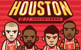 Houston 'Rocketeers' Art