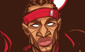 Allen Iverson 'The Answer' Character Design
