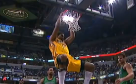 Andrew Bynum Makes His Pacers Debut
