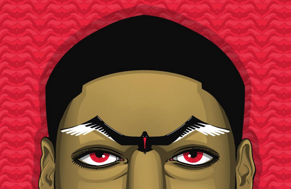 Anthony Davis 'Pelican Eyebrows' Illustration