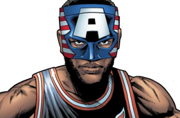 Marvel Creates Masked LeBron James Character