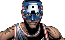 Marvel Comics Creates Masked LeBron James Character