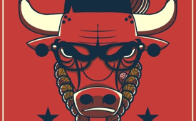 Bulls 'Chicago Made' Logo