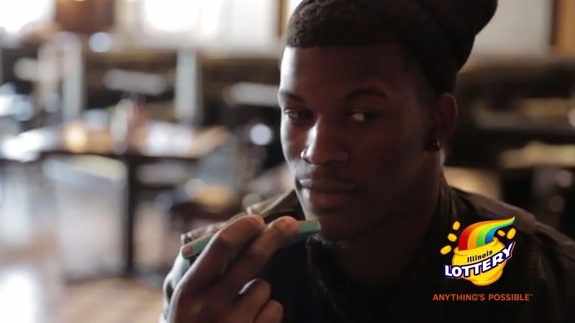 Jimmy Butler Illinois Lottery Commercial