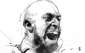 Kevin Garnett Raw Sketch