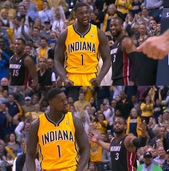 Lance Stephenson Ejected for Taunting Dwyane Wade