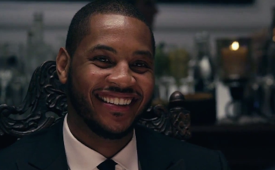 Carmelo Anthony Celebrates a Decade with Jordan Brand Over Dinner