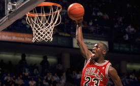 Six Michael Jordan Free Throw Putback Dunks