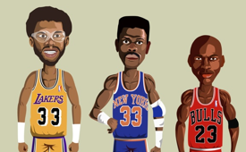 NBA Legends Illustrated