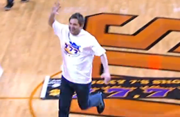 Suns Fan Hits a $77,777 Halfcourt Shot