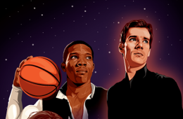 Phoenix Suns 'Star Wars Night' Illustration