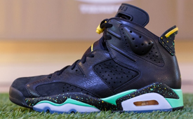 Air Jordan 6 'World Cup Brazil' Edition