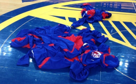 LA Clippers Protest Donald Sterling With Blank Warmups