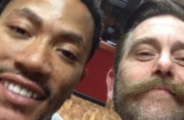 Derrick Rose Adds a Martin Luther King Tattoo