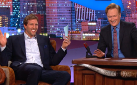 Dirk Nowitzki Gives Conan O'Brien 'Texas Citizenship' Test