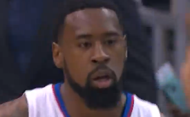 DeAndre Jordan Posts a Monster 25 and 18 Line In Game 5