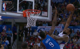 DeAndre Jordan Dunks On Serge Ibaka