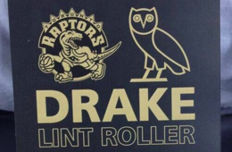 The Raptors Are Giving Away Free 'Drake' Lint Rollers