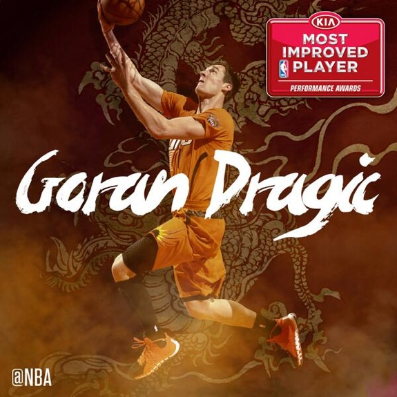 Goran Dragic Named NBA Most Improved Player