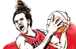 Joakim Noah 'DPoY' Illustration