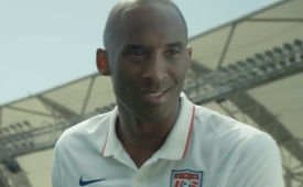 Kobe Bryant FIFA World Cup Panini Commercial