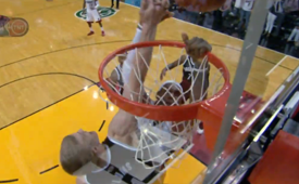 Mason Plumlee Blocks LeBron James For the Win