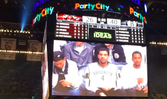 The Brooklyn Nets Troll Drake With Digital Jersey