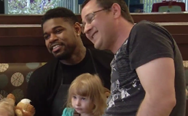 Amir Johnson Visits Ronald McDonald House