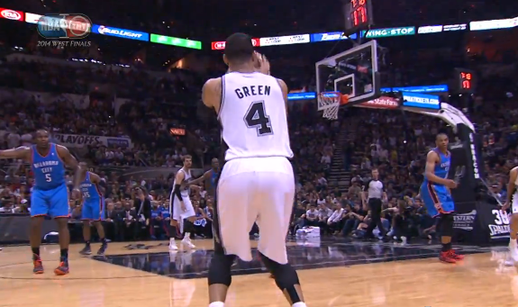 Danny Green Drains 7 Threes In Game 2