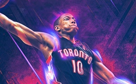DeMar DeRozan 'Born to Play' Art