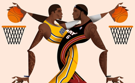 2014 NBA Playoffs 'Eastern Conference Finals' Art