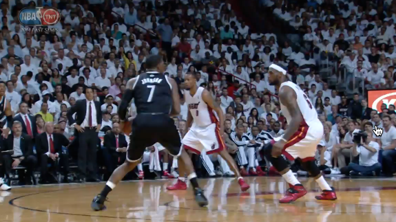 Joe Johnson Goes Down Swinging In Game 5