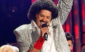 Landry Fields As Lionel Richie On 'Sing Your Face Off'