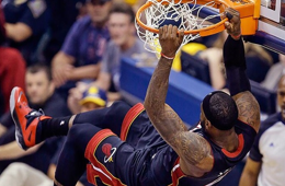 LeBron James Crushes an Alley-oop to Start Game 5