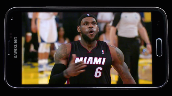 LeBron James 'Turn Off To Turn On' Samsung Commercial