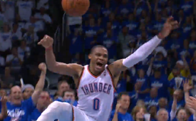 Russell Westbrook Has a MJ Like Game 4