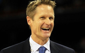 Steve Kerr Named Warriors Head Coach