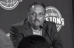 Detroit Pistons Stan Van Gundy, Day One