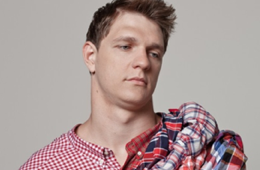 Timofey Mozgov Creatively Models Plaid Shirts For Esquire Russia