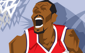 Washington Wizards 'NBA Champions' Caricature Art