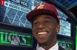 Cavs Select Andrew Wiggins First Overall