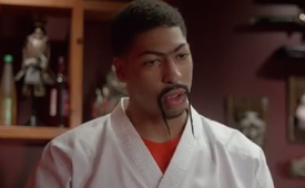Anthony Davis Plays a Sushi Chef to Discuss Phone Etiquette