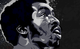 Earl 'The Pearl' Monroe Illustration